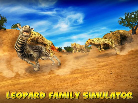 Leopard Family Simulator Full screenshot 5