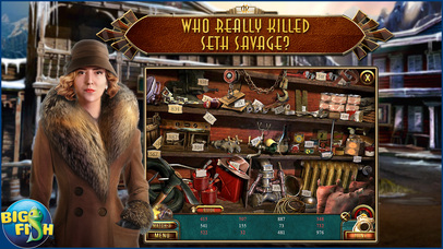 Dead Reckoning: Snowbird's Creek - Hidden Objects screenshot 2
