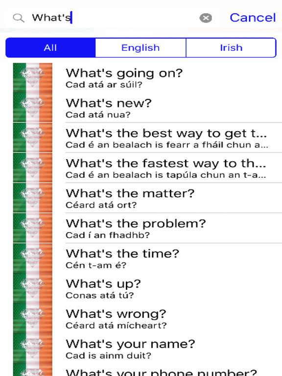 Irish Phrases Diamond 4K Edition screenshot 5