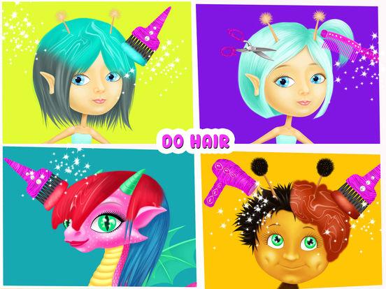 Fairyland 4 Meadow Princess - Makeup & Hair Salon screenshot 7