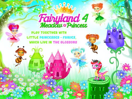 Fairyland 4 Meadow Princess - Makeup & Hair Salon screenshot 6