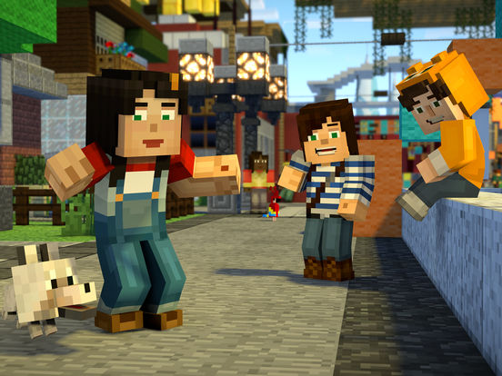 Minecraft: Story Mode - Season Two screenshot #5