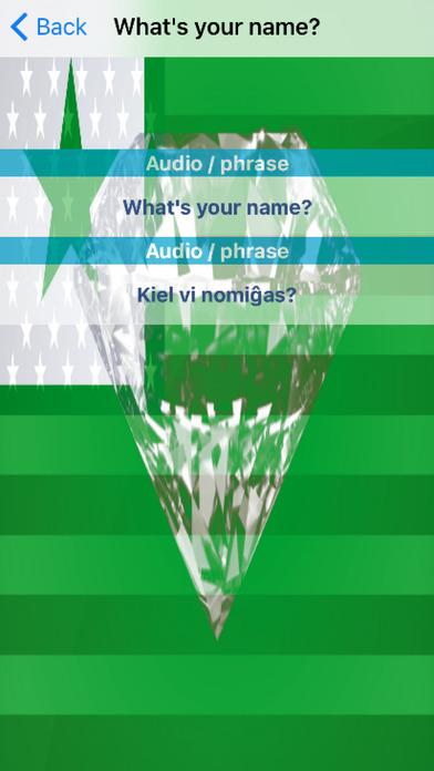 Esperanto Phrases Diamond 4K Edition screenshot 3