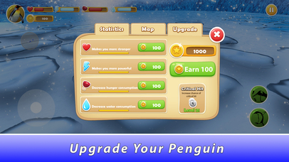 Penguin Family Simulator Full screenshot 4