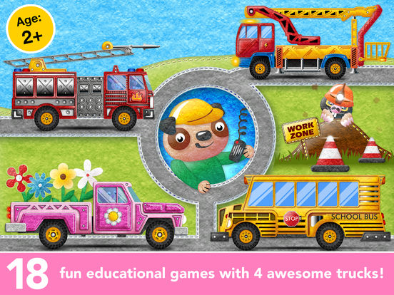 Kids Trucks in Town - Adventure Games for Toddlers screenshot 6