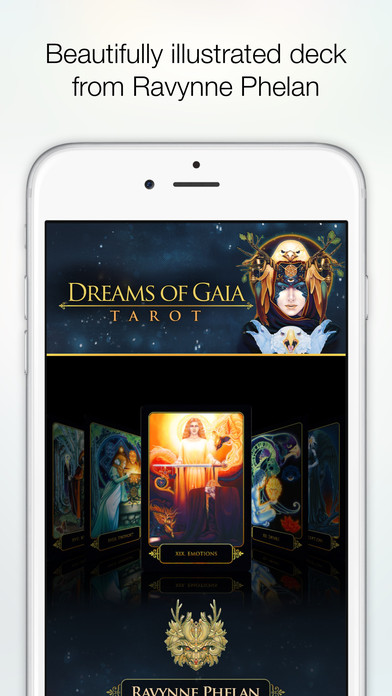 Dreams of Gaia Tarot screenshot 4