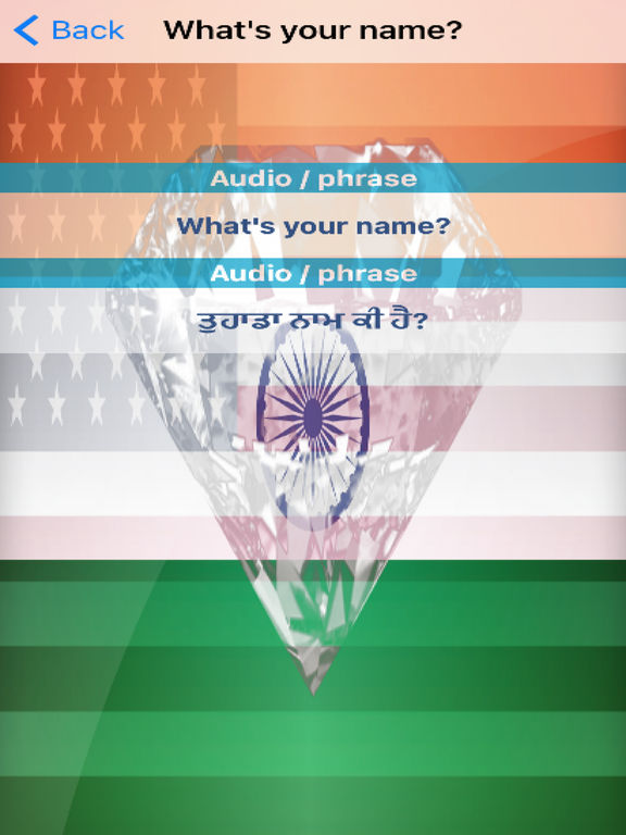 Punjabi Phrases Diamond 4K Edition screenshot 6