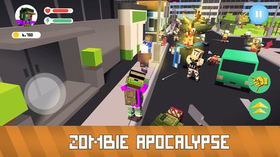 Blocky Zombie Simulator Full screenshot 2