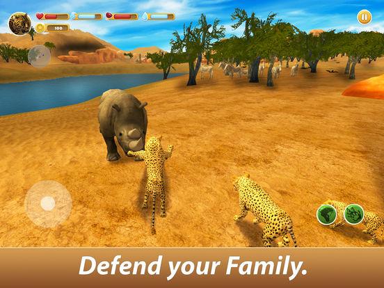 Leopard Family Simulator Full screenshot 7