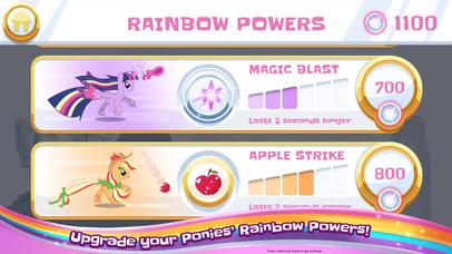 My Little Pony Rainbow Runners screenshot 3