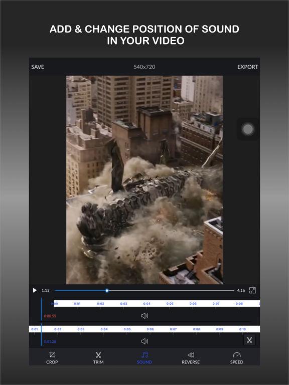CrVid - Great video editor! screenshot 9