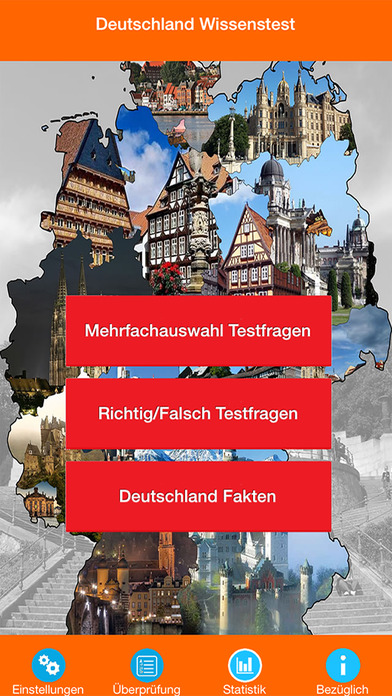 Deutschland Wissens Quiz screenshot 1