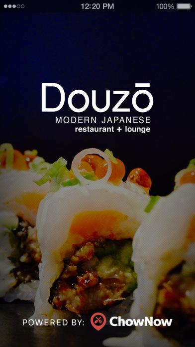 Douzo Modern Japanese screenshot 1