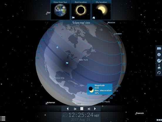 Solar Eclipse by Redshift screenshot 6