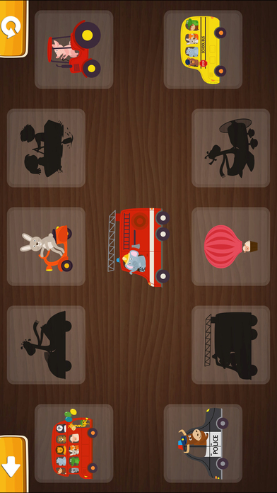 Smart Baby! Vehicles. Toddler Games for boys girls screenshot 2