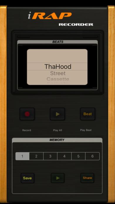 i-Rap Voice Recorder screenshot 1