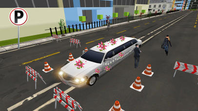 Limo Wedding Transport with Luxurious Parking screenshot 4