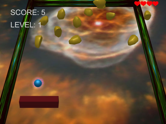 3D SPACE ARKANOID screenshot 7