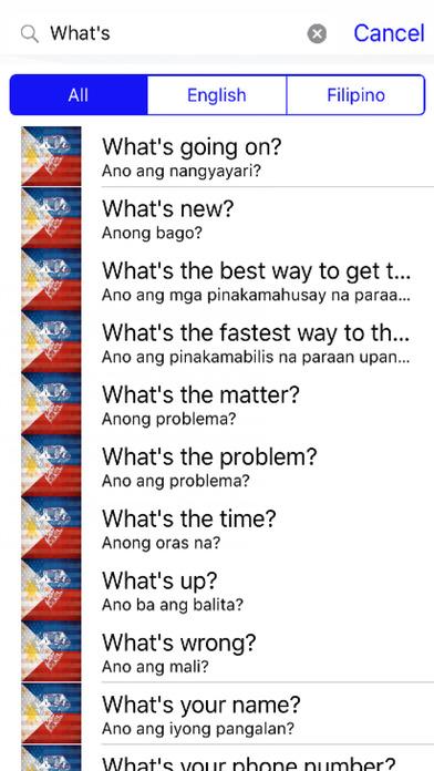 Filipino Phrases Diamond 4K Edition screenshot 2