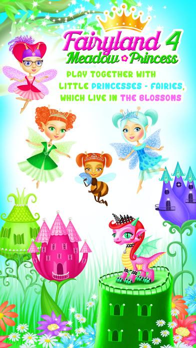 Fairyland 4 Meadow Princess - Makeup & Hair Salon screenshot 1