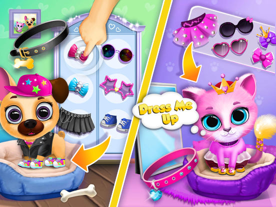 Kiki & Fifi Pet Beauty Salon - No Ads screenshot 10