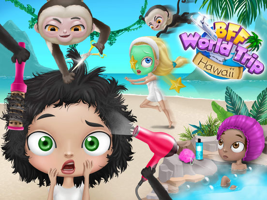 BFF World Trip Hawaii - No Ads screenshot 10