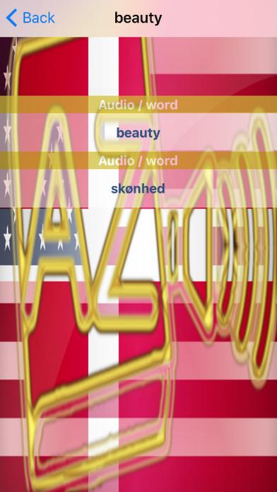 Danish Dictionary GoldEdition screenshot 5