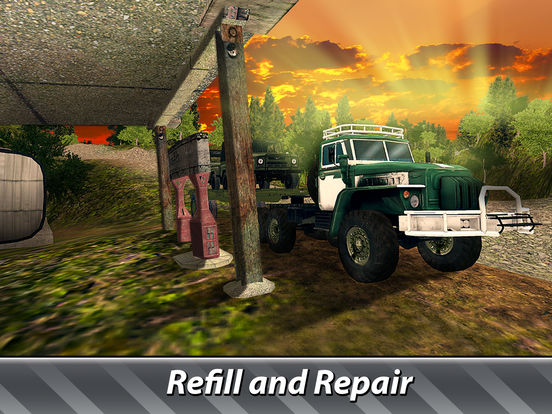 Cargo Trucks Offroad Driving Full screenshot 8