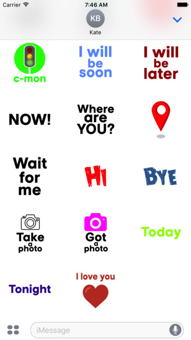 Every day with stickers screenshot 2