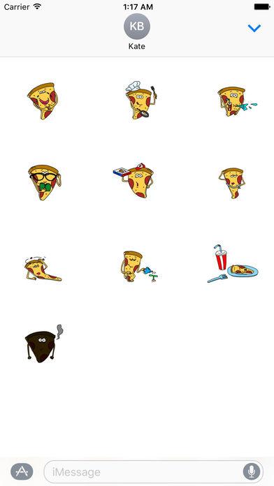 Pizzamoji - Life of Pizza Sticker screenshot 3