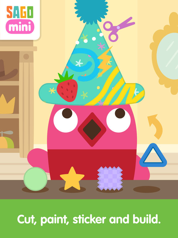 Sago Mini Hat Maker screenshot 7