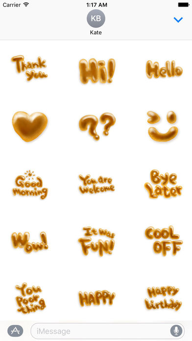 Bread Character Sticker screenshot 1