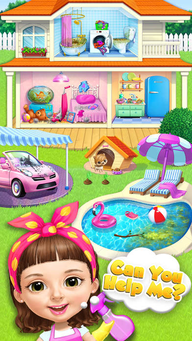 Sweet Baby Girl Cleanup 5 - No Ads screenshot 3
