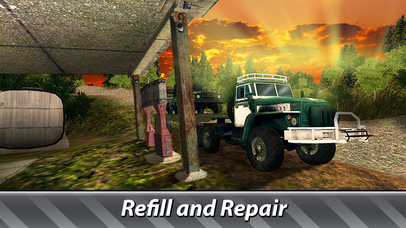 Cargo Trucks Offroad Driving Full screenshot 4