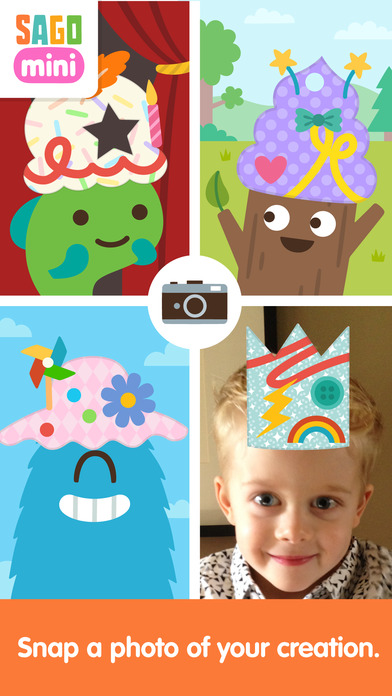 Sago Mini Hat Maker screenshot 3