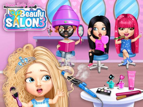 Sweet Baby Girl Beauty Salon 3 - No Ads screenshot 6