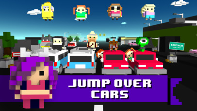 Chicken Jump - Crazy Traffic screenshot 1