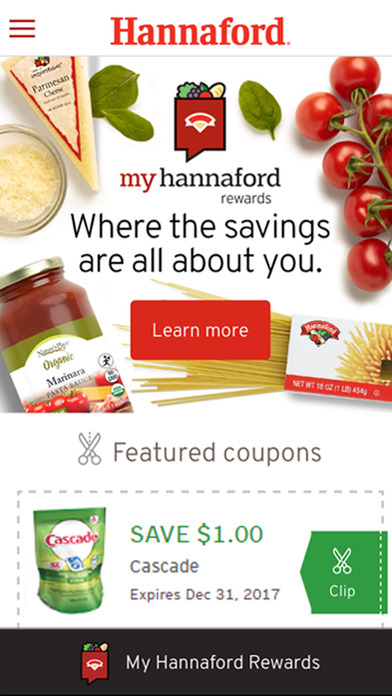 Hannaford screenshot 1
