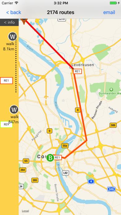 Aachen Public Transport Guide screenshot 4