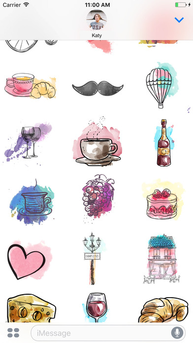 I love Paris Stickerpack - Paris mon amour screenshot 2