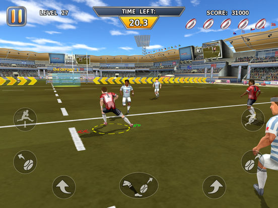 Rugby: Hard Runner screenshot 6