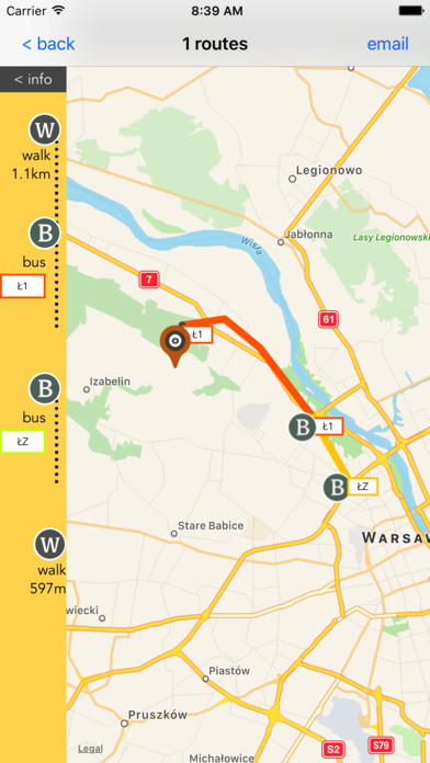 Warsaw Public Transport screenshot 4