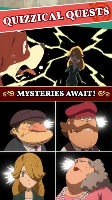 Layton's Mystery Journey screenshot #4