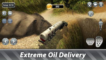 Oil Truck Offroad Driving Full screenshot 2