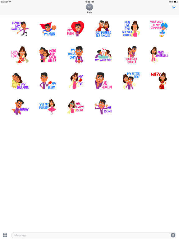 Cute Couple Stickers screenshot 5