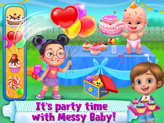 OMG! Messy Baby screenshot 7