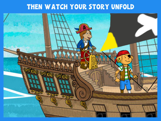Arthur's Story Maker: Pirates – FREE Kids App screenshot 10