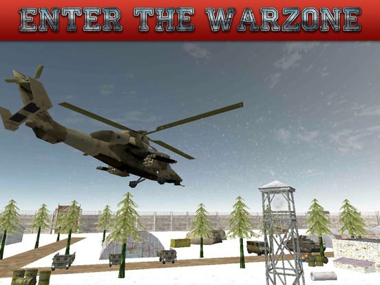 Gunship Rescue Force Battle Helicopter Attack Game screenshot 9