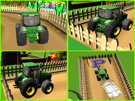 Classic Farm Tractor Simulator : Simple 3D Parking screenshot 5