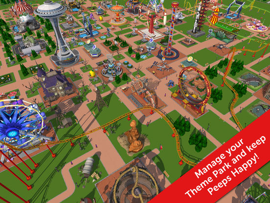 RollerCoaster Tycoon® Touch™ screenshot 6